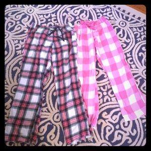 Old Navy Intimates & Sleepwear - 2 pair Old Navy can pj bottoms